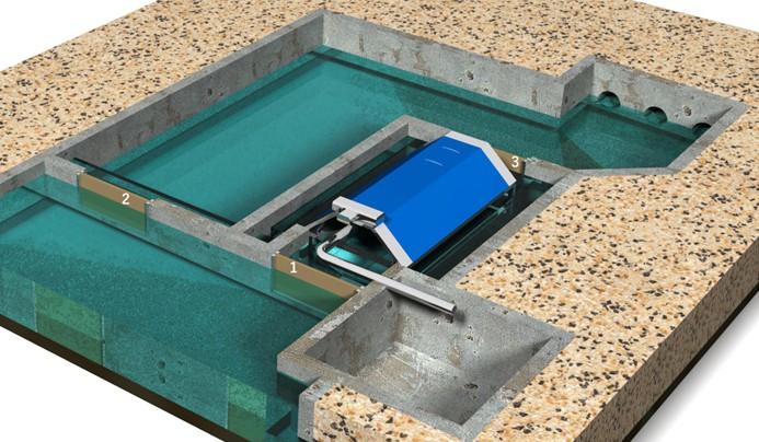 Dimensionamiento, diseño y suministro de filtro de tambor para  salida de piscifactoría de trucha de arco iris