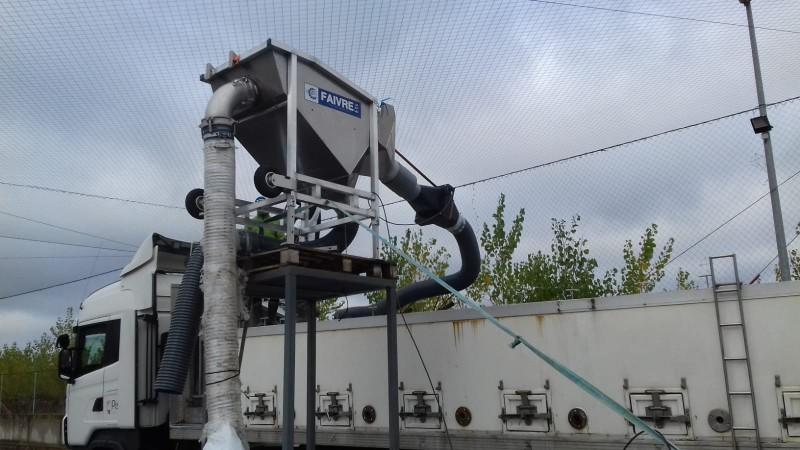 Contadora PLC VAKI para la carga de camión con truchas hasta 5kg