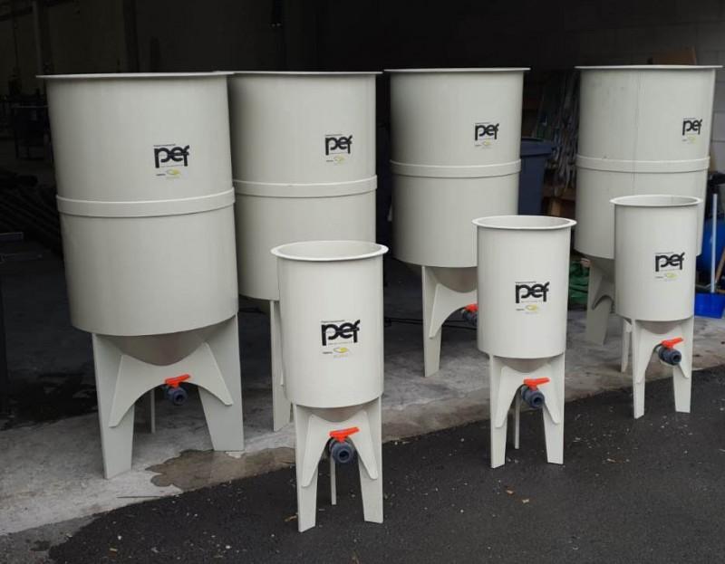 Suministro de tanques en PP a medida para cultivos auxiliares