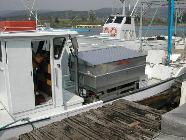 Alimentadores barco