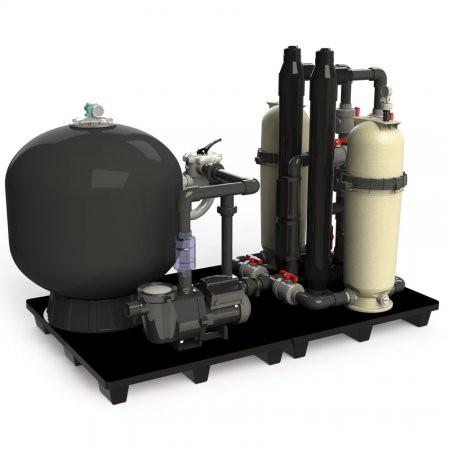 Filtración mecánica