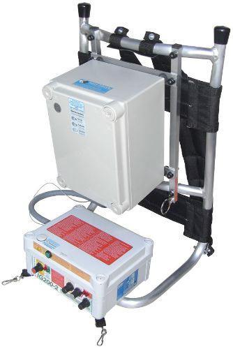 Equipo de pesca eléctrica a batería IG200-2B